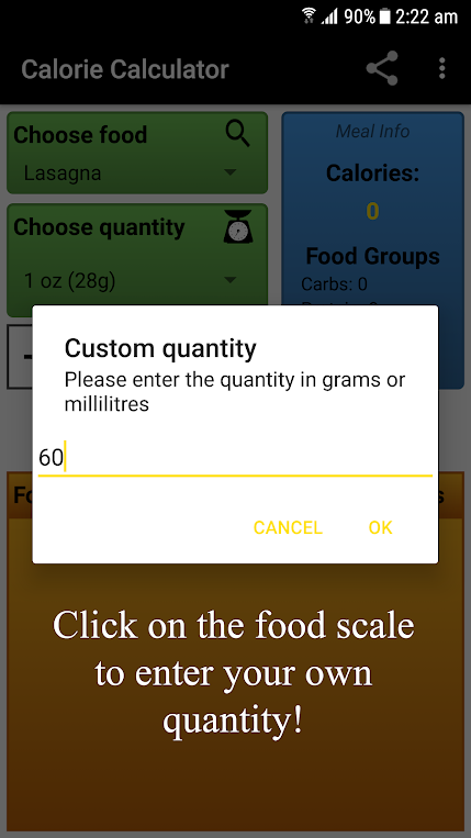Calorie Calculator Review Download App Of The Day