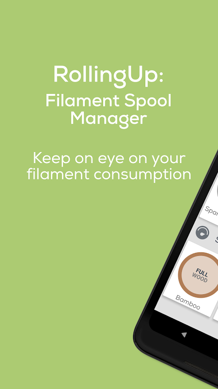 RollingUp: Filament Spool Manager