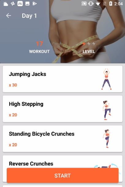 21 days Lose Belly Fat – belly fitness&burn fat