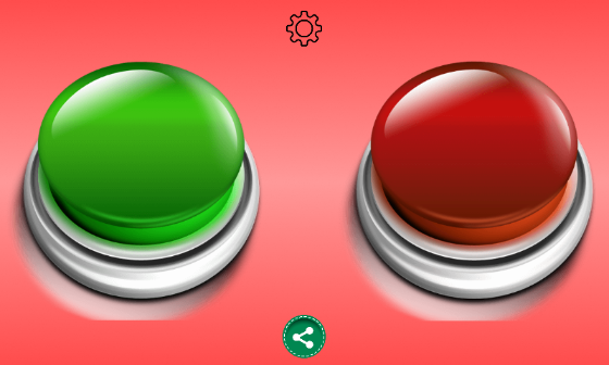 Red Button Buzzer