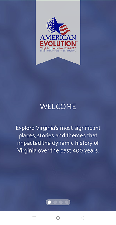 Virginia History Trails