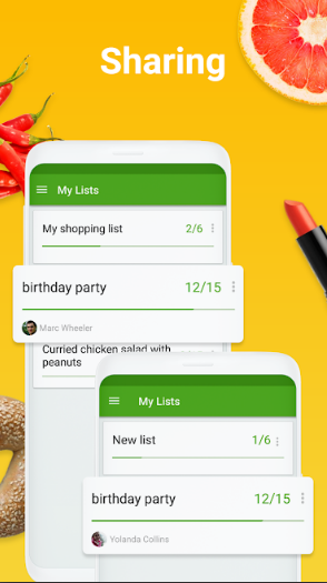 Grocery Shopping List – Listonic