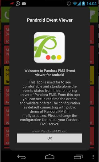 Pandora FMS Event Viewer