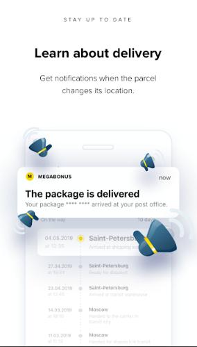 Megabonus – Finding your parcel by tracking number