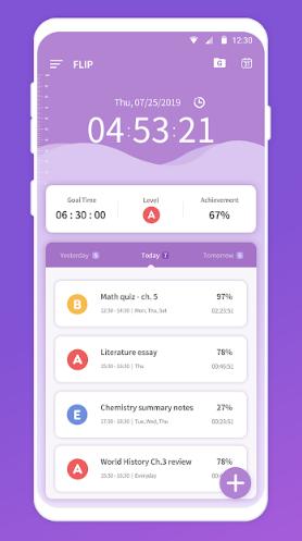 FLIP – Focus Timer for Study