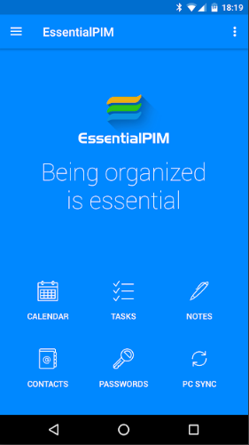 EssentialPIM – Your Personal Information Manager