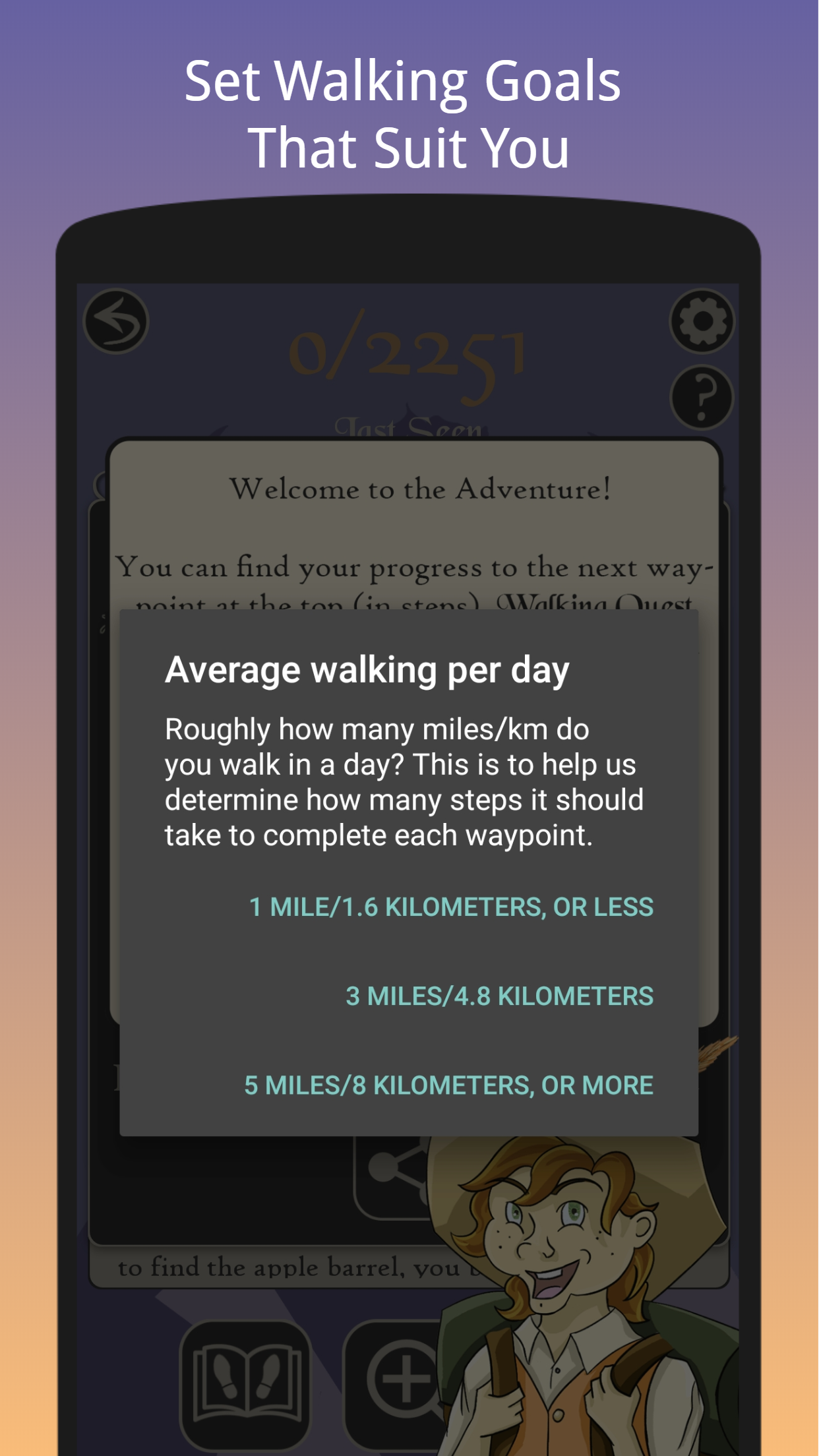 Walking Quest – Step Into Adventure