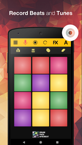 Drum Pad Afro – Beat Maker Machine