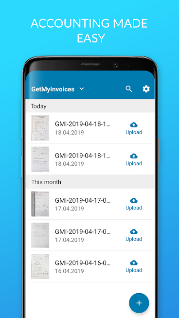 GetMyInvoices: Scan invoices & receipts easily
