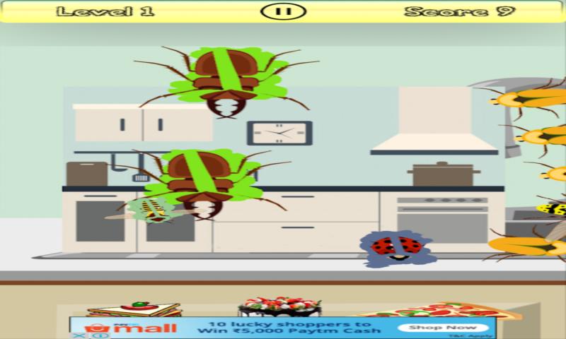 Bug Smasher free for kids