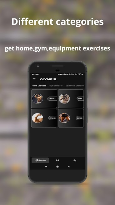 Olympia – Gym Workouts & Fitness Trainer