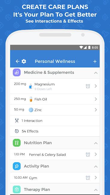 Symptom Tracker & Medicine, Health Symptoms Diary
