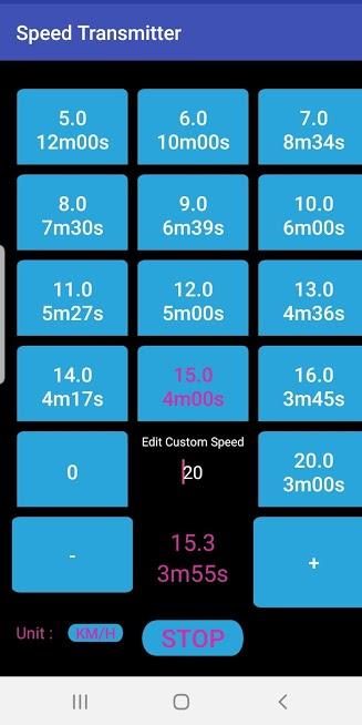 🏃♂️ Treadmill Speed Transmitter 🏃♀️