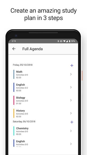 Easy Study – Your schedule, plan for school