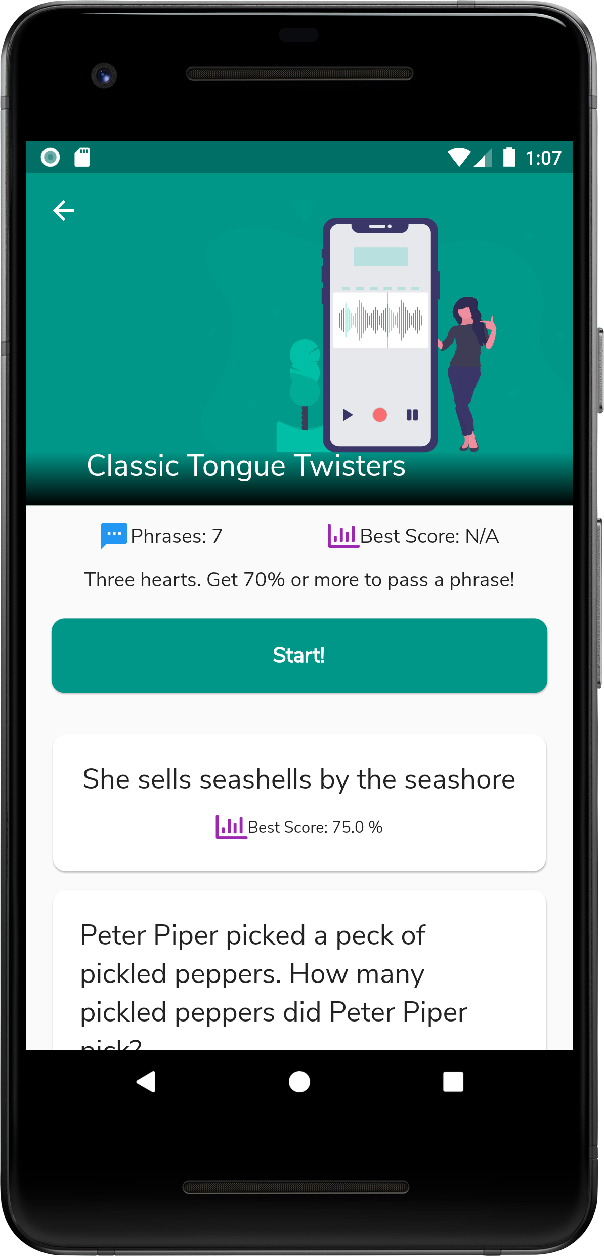 Twistify – An App with Tongue Twisters!