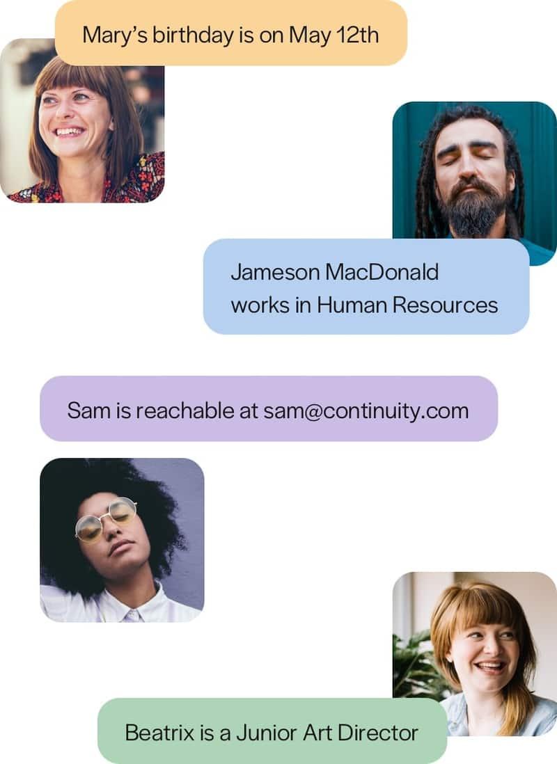 Names & Faces