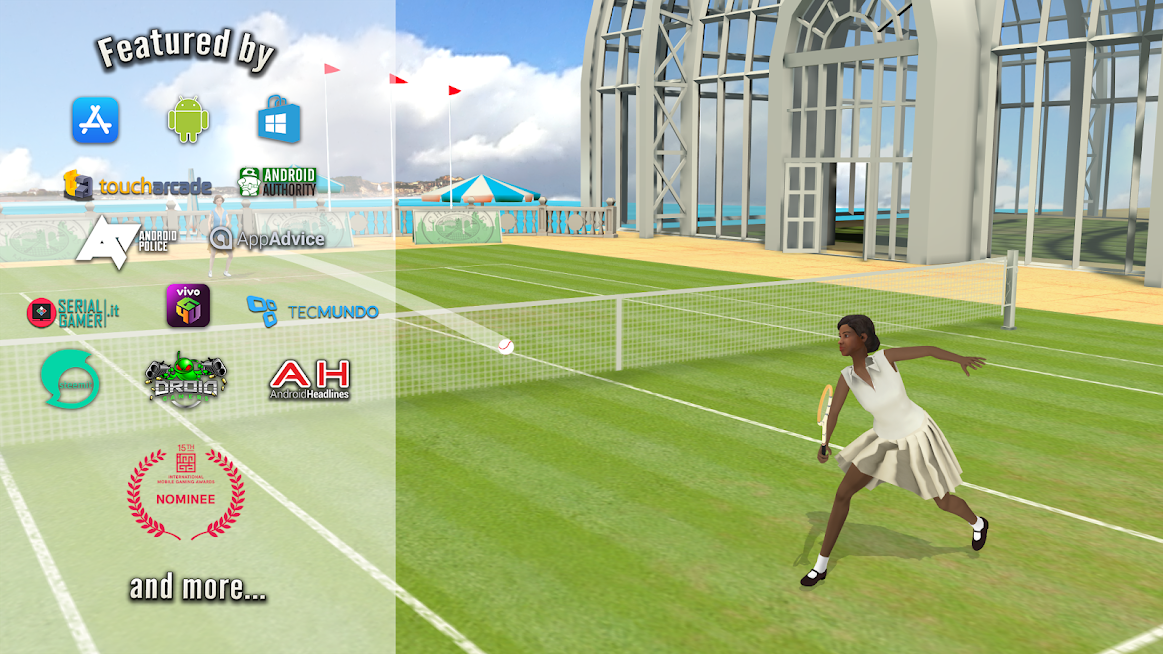 World of Tennis: Roaring '20s — online sports game