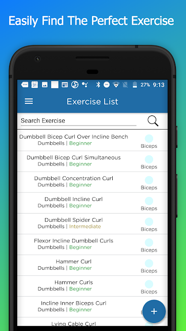 FitSW – Fitness Software for Personal Trainers