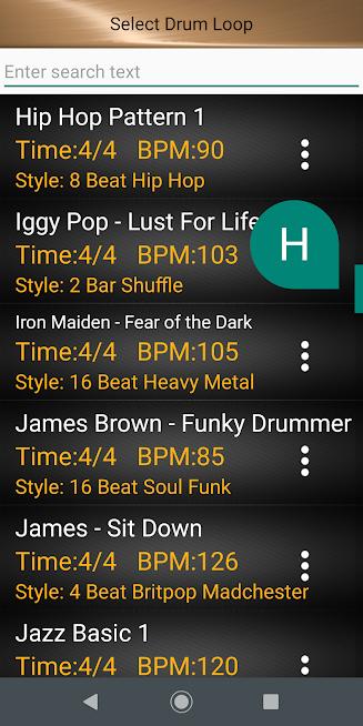 Drum metronome app