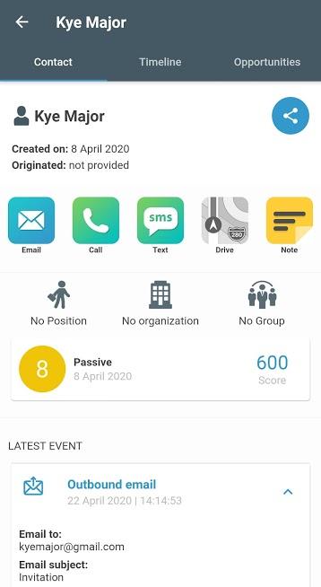 SeoSamba CRM – Mobile Customer Relationship