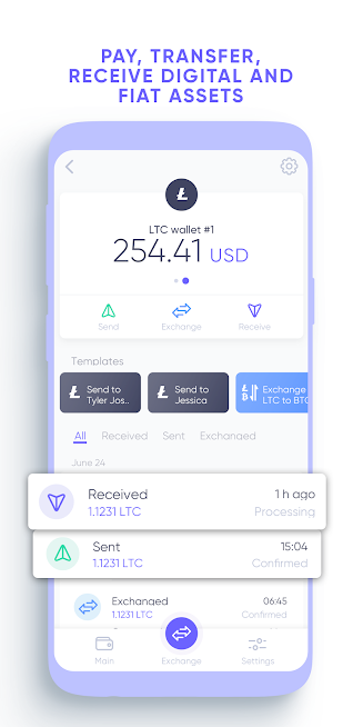 Quppy Wallet – bitcoin, crypto and euro payments