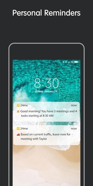 24me: Calendar, To Do List, Notes & Reminders