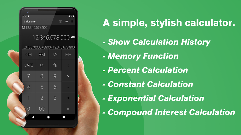 Calculator – Simple & Stylish