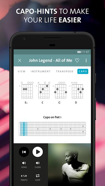Chordify: Guitar, Ukulele and Piano Chords