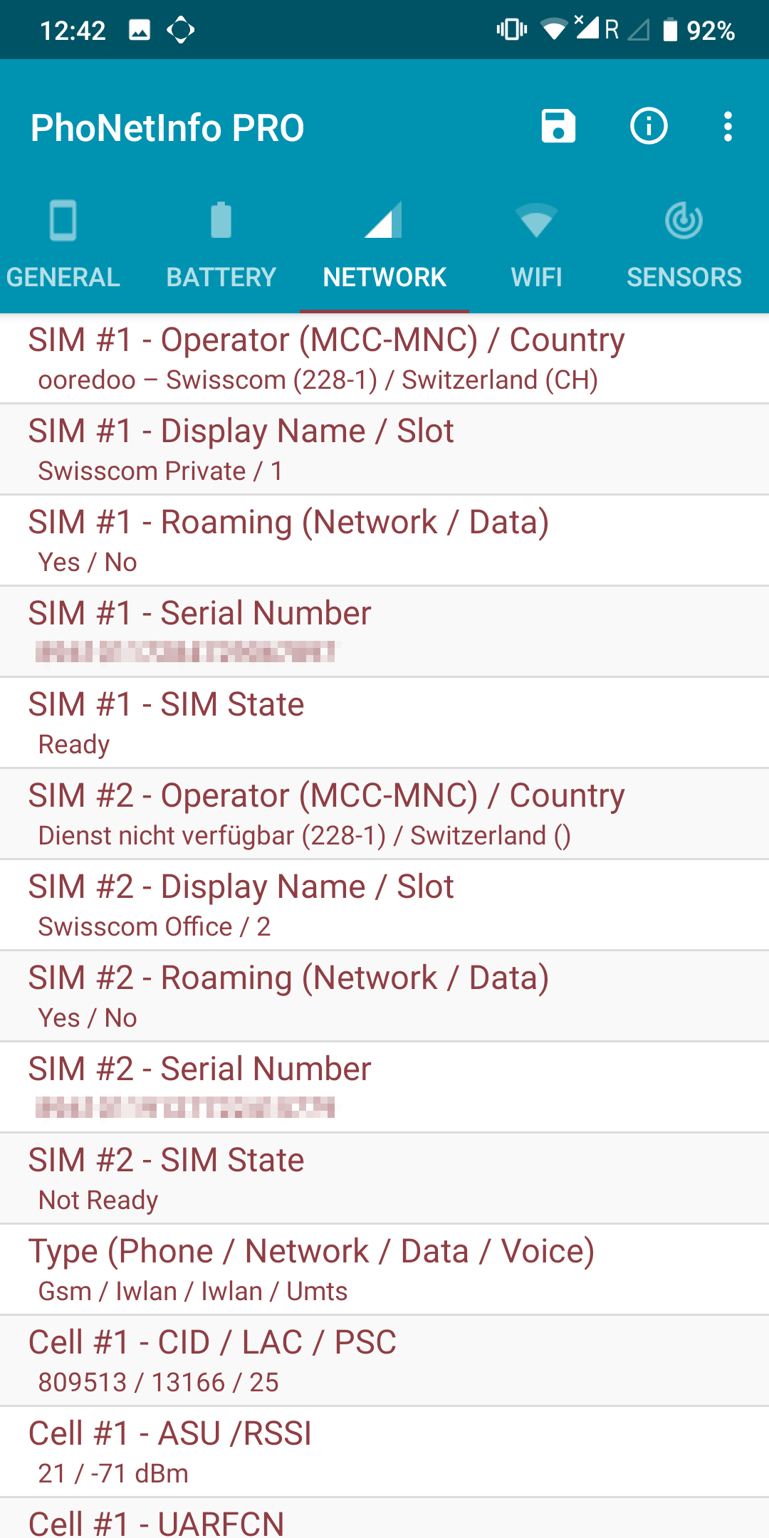 PhoNetInfo – Phone Info & Network Info