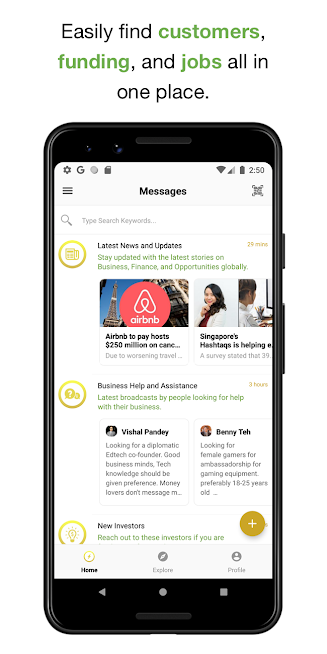 BEAMSTART — Startup Networking, News, & Resources