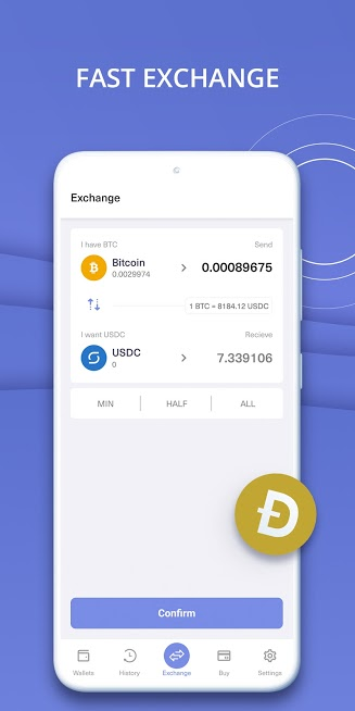 Guarda Crypto Wallet: Bitcoin, Ethereum, Ripple