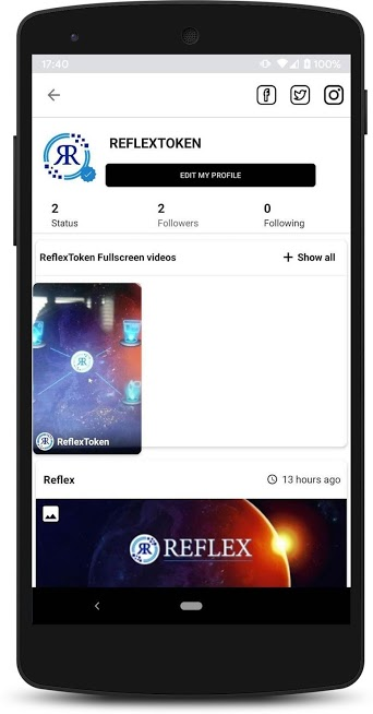 Reflexer – Social Reward