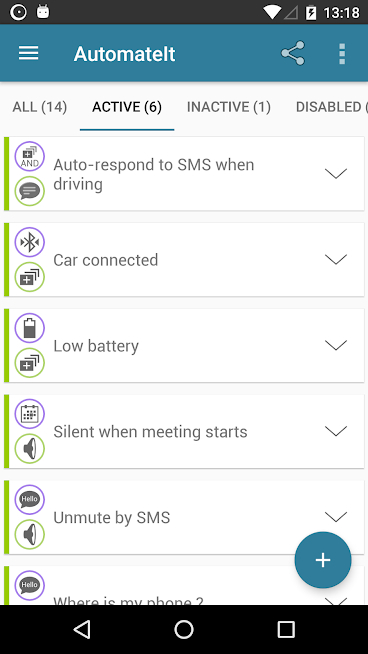 AutomateIt Pro – Automate tasks on your Android