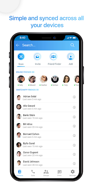 Snatch App – Text and Video Chat for Free