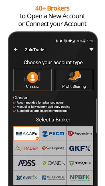 ZuluTrade – Copy Trading Platform