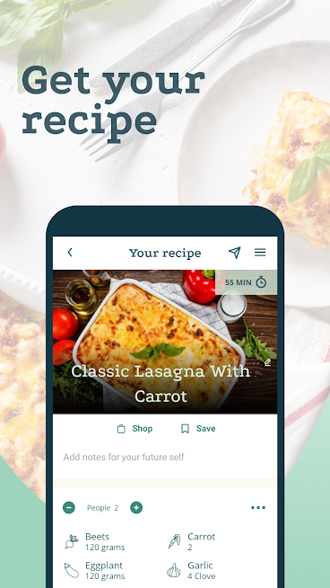 Create Recipes and Shopping Lists – Plant Jammer