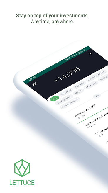 Lettuce – track your investments