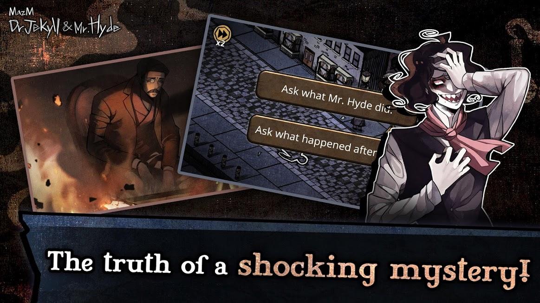 Jekyll & Hyde – Visual Novel, Detective Story Game